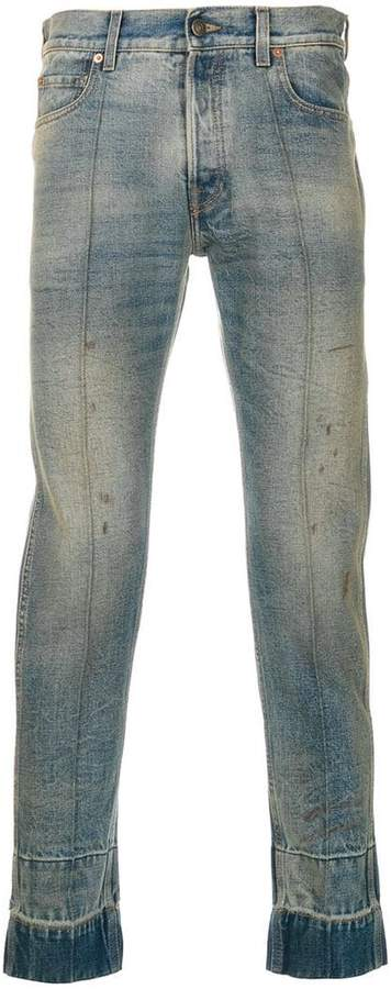 Gucci Stained Punk jeans