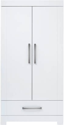 Silver Cross Notting Hill Wardrobe, Gloss White