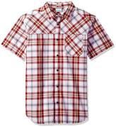 Columbia Men's Thompson Hill Yarn Dye Short Sleeve Shirt