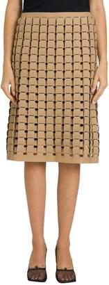 Bottega Veneta Skirt In Rubber Satine
