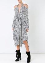 Kitx Graphic Kimono Release Dress Broken Line