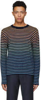 Paul Smith Miulticolor Striped Knit Sweater