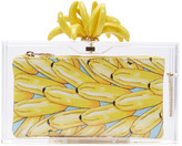 Charlotte Olympia Transparent Bananas For Pandora Clutch