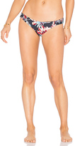 Tori Praver Swimwear Adelle Bottom in Black. - size XS (also in )