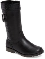 Stride Rite Girl's Sage Quilted Buckle Strap Boot