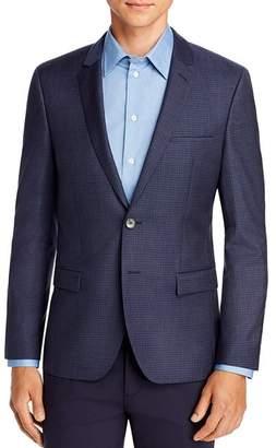 HUGO Arti Houndstooth Check Extra Slim Fit Suit Jacket