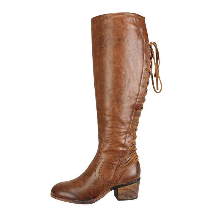 f3aa987d6d Brown Knee High Boots With High Heel - ShopStyle Canada
