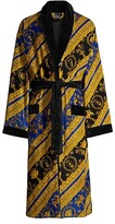 Thumbnail for your product : Versace Baroque Cotton Terry Bathrobe