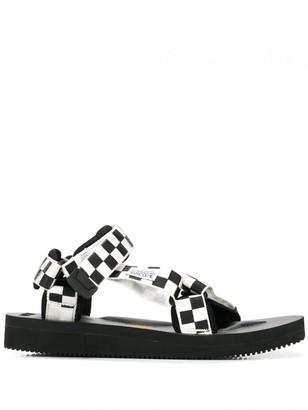 Suicoke Black and White Neoprene Sandal - 11 - White/Black