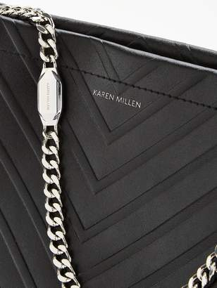 Karen Millen Avery Shoulder Bag - Black