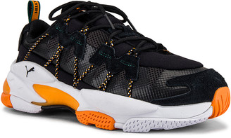 Puma Select x Helly Hanson LQD Cell Omega in Puma Black & Puma White | FWRD