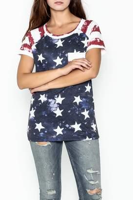 Promesa American Flag Tee