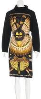Hermes Brazil Alpaca Silk Dress