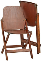 Rejuvenation Pair of Molded Plywood Folding Chairs