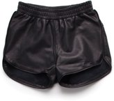 Nununu Girl's Leather Gym Shorts