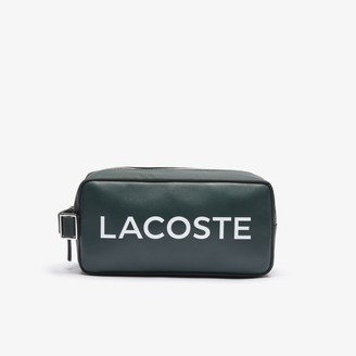 Lacoste Men's L.12.12 Branded Zip Toiletry Bag