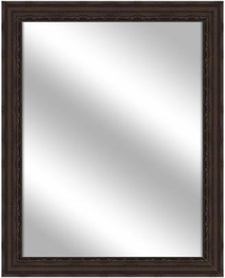 PTM Images Over the sink Vanity Mirror, Espresso, 25.75x31.75