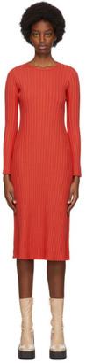 Simon Miller Red Wells Mid-Length Dress