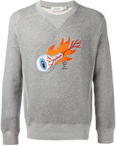Coach eyeball print sweatshirt - men - Cotton - S