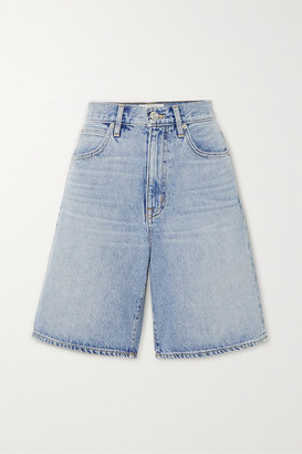 SLVRLAKE London Denim Shorts - Light denim