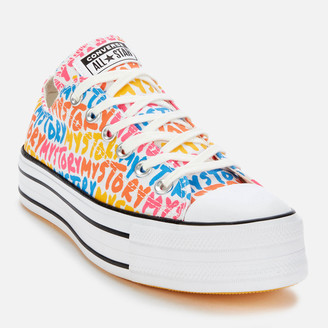 Converse Chuck Taylor All Star My Story Platform Ox Trainers