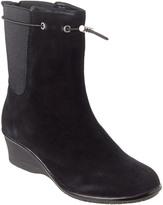 Taryn Rose Amir Waterproof Suede Boot
