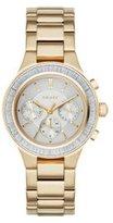 DKNY Women's NY2395 CHAMBERS Gold Watch