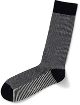 Ted Baker Semi Plain Textured Organic Sock