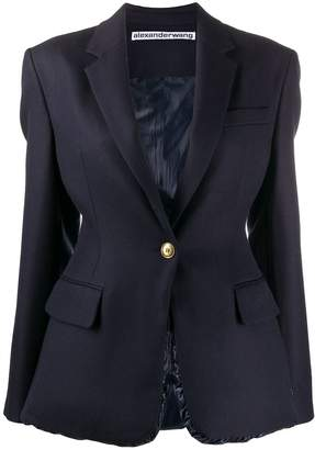 Alexander Wang single-breasted fitted blazer