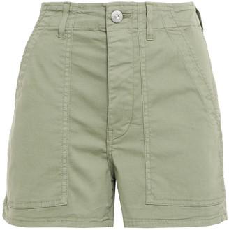 3x1 Cotton-blend Twill Shorts
