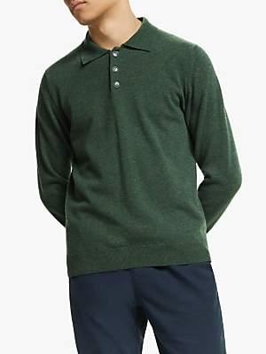 LA PAZ Eca Knit Polo Shirt, Military Green