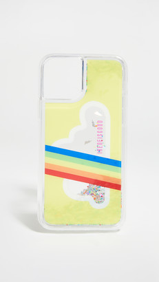 Ireneisgood Cloud Glitter iPhone Case