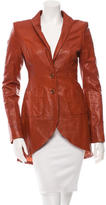 Rachel Zoe Asymmetrical Leather Jacket