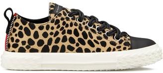 Giuseppe Zanotti leopard print sneakers