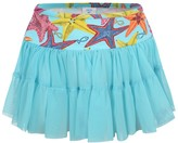 Pate De Sable Turquoise Strafish Tulle Beach Skirt