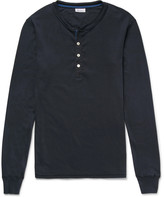 Schiesser - Karl Heinz Cotton-jersey Henley Pyjama T-shirt