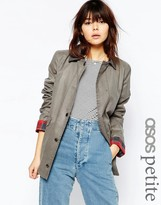 Asos Jacket in Wax and Heritage Detail