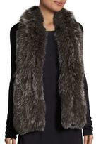 Saks Fifth Avenue Knitted Fox Fur Scarf