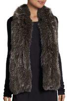 Saks Fifth Avenue Knitted Fox Fur Scarf