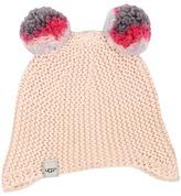 UGG Multicolor 2 Pom Knit Hat (Toddler/Little Kids)