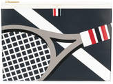 Thom Browne tennis print document holder