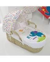 O Baby Obaby Happy Safari Moses Basket