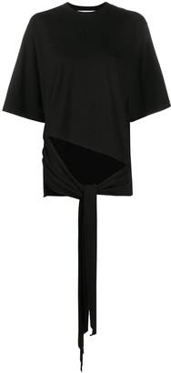Ssheena short sleeve draped front T-shirt