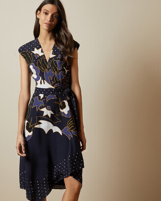 Ted Baker SARETTI Masquerade wrap dress