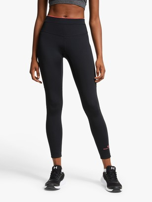 Ronhill Tech Revive Stretch Running Tights, Black/Hot Pink