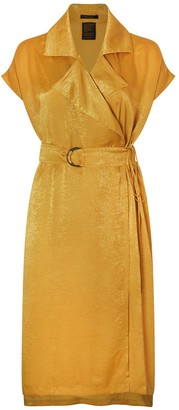 Juan Carlos Obando Sleeveless Trench Dress