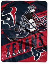 Northwest Company Houston Texans Micro Raschel Deep Slant Blanket