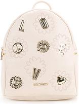 Love Moschino top handle medium backpack - women - Polyurethane - One Size