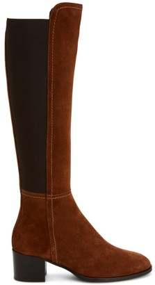 Aquatalia Nova Knee-High Suede Boots