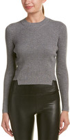 KENDALL + KYLIE Lurex Wool-Blend Sweater